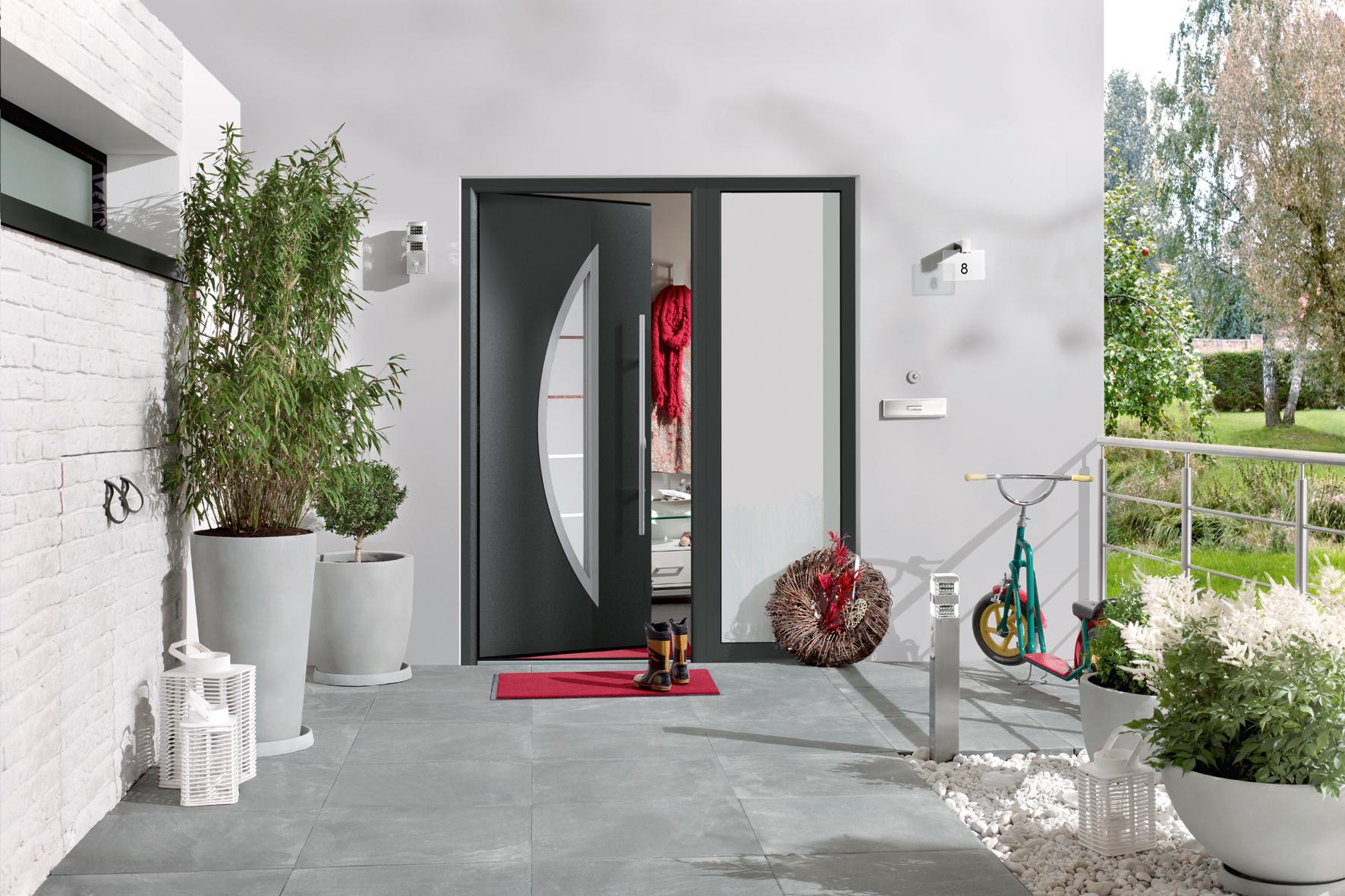 Thermo65 - matalowe drzwi w aluminiowej ościeznicy